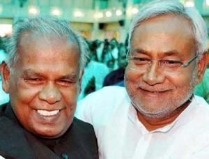 जीतनराम मांझी और नीतीश कुमार