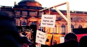 जर्मनी में सरकार के खिलाफ विरोध प्रदर्शन
