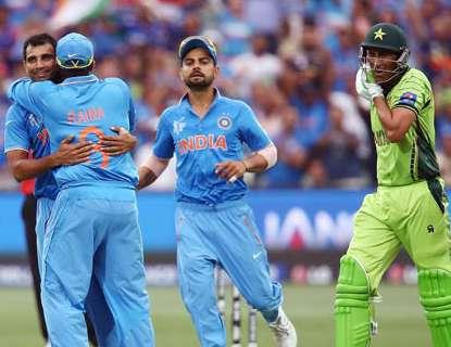 विश्वकप में भारत के हाथों पाकिस्तान की हार का सिलसिला बरकरार है