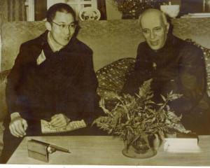 तिब्बत के धर्म गुरू 1956 में भारत की आधिकारिक यात्रा पर आए थे और माना जाता है इस यात्रा ने उनके और नेहरू के बीच समझ बढ़ाने में महत्वपूर्ण भूमिका निभाई