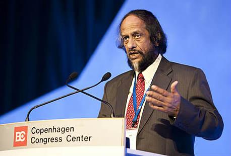 राजेंद्र पचौरी इंटर गवर्मेंटल पैनल ऑन क्लाइमेट चेंज (आईपीसीसी) के अध्यक्ष हैं