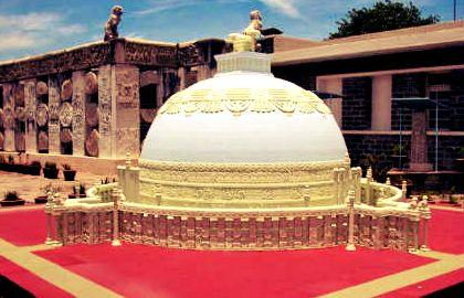 अमरावती सम्राट अशोक के समय बौद्ध धर्म का बहुत बड़ा केंद्र था
