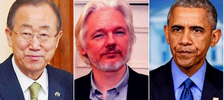 विकिलीक्स का खुलासा : अमेरिका ने संयुक्त राष्ट्र महासचिव बान की मून की जासूसी करवाई थी