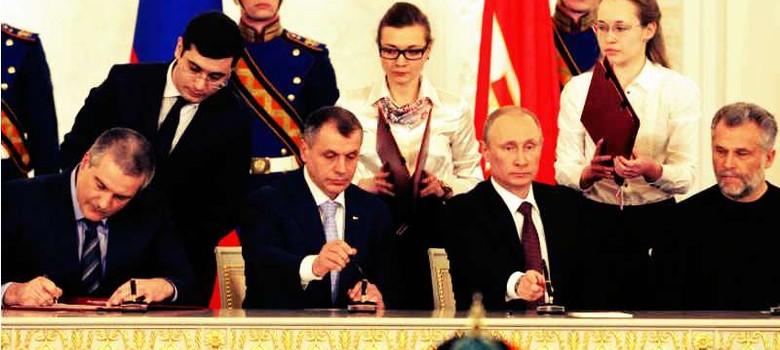 क्रीमिया का रूस में मिलना पश्चिमी देशों के लिए भारत में गोवा के विलय जैसा है