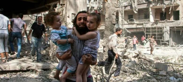 रूसी हमलों में 200 निर्दोष सीरियाई नागरिकों की मौत