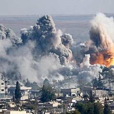 सीरिया को लेकर रूस और अमेरिकी गठबंधन के बीच तनातनी बढ़ी