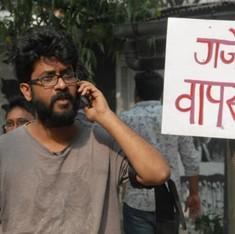 'सरकारी बहादुरी - आतंकियों के साथ बातचीत और एफटीआईआई छात्रों के साथ युद्ध!'