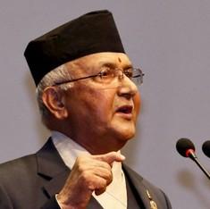 नेपाली प्रधानमंत्री बोले, नेपाल के सपने को भारत की नाकेबंदी ने तबाह किया