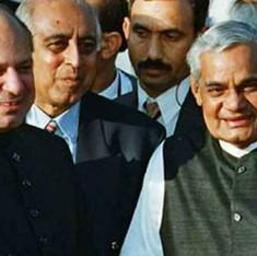 शरीफ ने माना, कारगिल में पाकिस्तानी सैनिकों की घुसपैठ वाजपेयी के साथ धोखा था