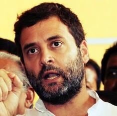 कांग्रेस ने कहा, राहुल गांधी सेमिनार में गए, भाजपा बोली, वह तो जून में ही हो गया