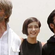 शमिताभ : स्मार्ट का आधा याकैरीकेचर का पूरा 'र' ?