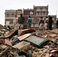 यमन में हवाई हमला, 20 भारतीयों की मौत